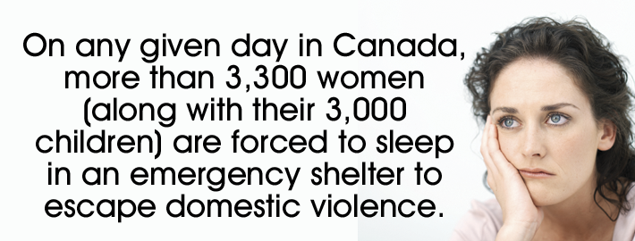 emergency shelter to escape domestic violence